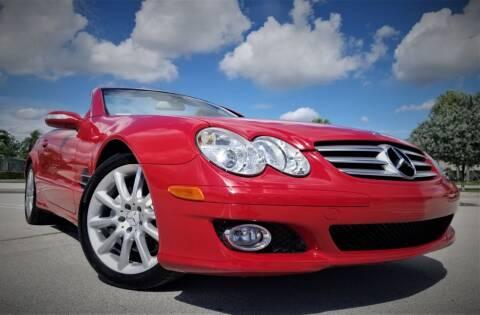 2007 Mercedes-Benz SL-Class for sale at Progressive Motors in Pompano Beach FL