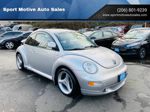 2000 Volkswagen New Beetle for sale at Sport Motive Auto Sales in Seattle WA