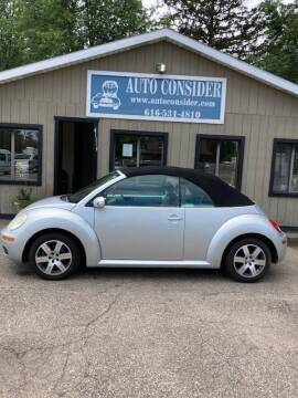 2006 Volkswagen New Beetle Convertible for sale at Auto Consider Inc. in Grand Rapids MI