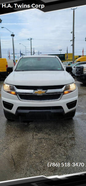 2016 Chevrolet Colorado for sale at H.A. Twins Corp in Miami FL