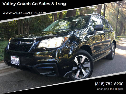 2018 Subaru Forester for sale at Valley Coach Co Sales & Lsng in Van Nuys CA