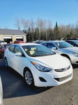 2012 Hyundai Elantra for sale at Jeff's Sales & Service in Presque Isle ME