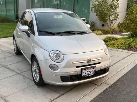 2012 FIAT 500 for sale at Top Motors in San Jose CA