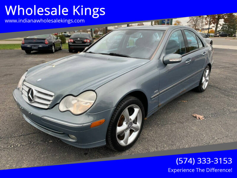 2004 Mercedes-Benz C-Class for sale at Wholesale Kings in Elkhart IN
