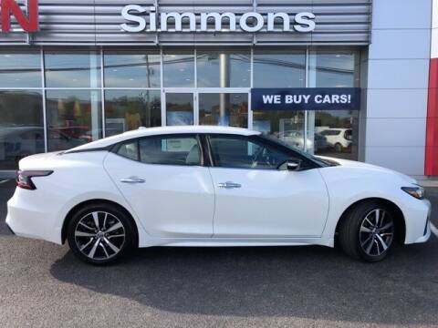 2021 Nissan Maxima for sale at SIMMONS NISSAN INC in Mount Airy NC
