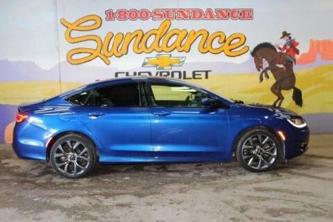 2015 Chrysler 200 for sale at Sundance Chevrolet in Grand Ledge MI