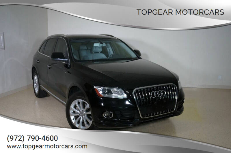 2015 Audi Q5 for sale at TopGear Motorcars in Grand Prarie TX