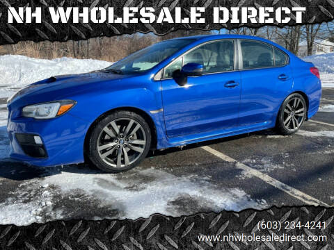 2016 Subaru WRX for sale at NH WHOLESALE DIRECT in Derry NH
