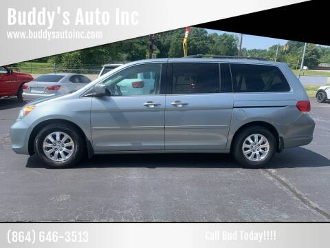 2008 Honda Odyssey for sale at Buddy's Auto Inc in Pendleton, SC