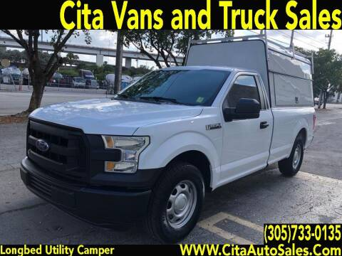 2016 Ford F-150 for sale at Cita Auto Sales in Medley FL