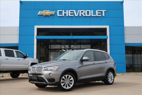 2015 BMW X3 for sale at Lipscomb Auto Center in Bowie TX
