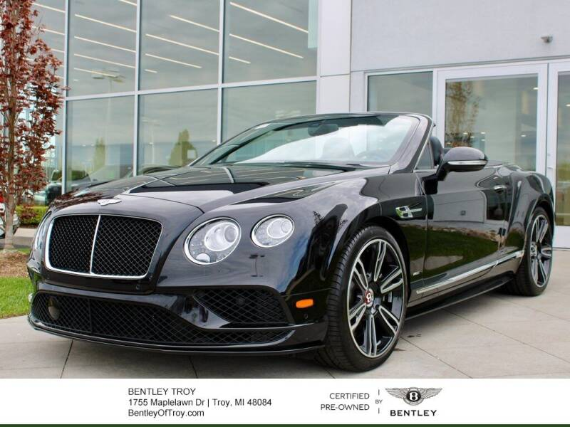 2017 Bentley Continental for sale in Troy, MI