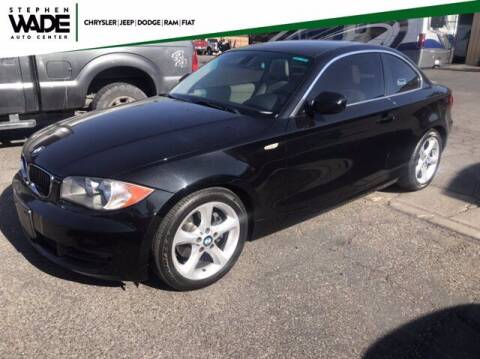 2011 BMW 1 Series for sale at Stephen Wade Pre-Owned Supercenter in Saint George UT