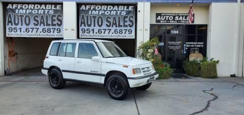 1997 Suzuki Sidekick for sale at Affordable Imports Auto Sales in Murrieta CA