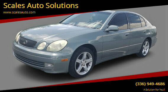2001 Lexus GS 430 for sale at Scales Auto Solutions in Madison NC