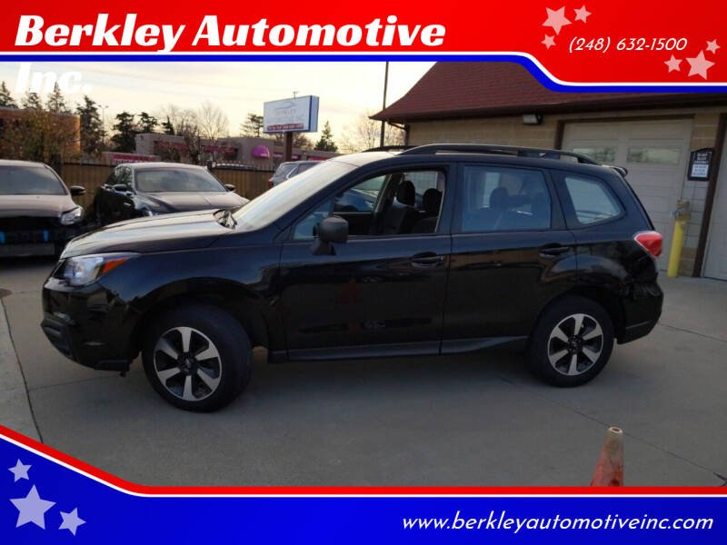 2017 Subaru Forester for sale at Berkley Automotive Inc. in Berkley MI