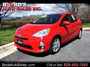 2012 Toyota Prius c for sale at Byrds Auto Sales in Marion NC