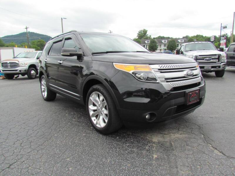 2013 Ford Explorer for sale at Hibriten Auto Mart in Lenoir NC