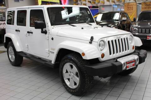 2011 Jeep Wrangler Unlimited for sale at Windy City Motors in Chicago IL
