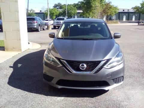 2016 Nissan Sentra for sale at JOE BULLARD USED CARS in Mobile AL