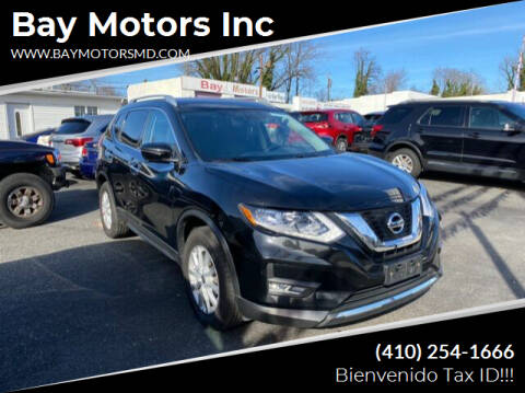 2017 Nissan Rogue for sale at Bay Motors Inc in Baltimore MD