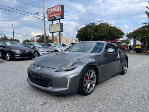 2014 Nissan 370Z for sale at Autohaus of Greensboro in Greensboro NC