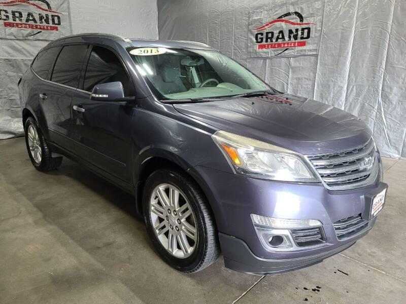 2013 Chevrolet Traverse for sale at GRAND AUTO SALES in Grand Island NE
