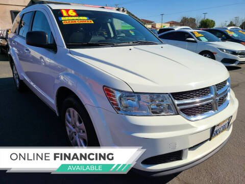 2016 Dodge Journey for sale at Super Cars Sales Inc #1 - Super Auto Sales Inc #2 in Modesto CA