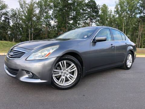 2011 Infiniti G25 Sedan for sale at El Camino Auto Sales in Sugar Hill GA
