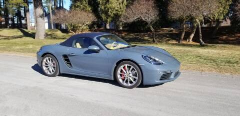 2017 Porsche 718 Boxster for sale at Classic Motor Sports in Merrimack NH