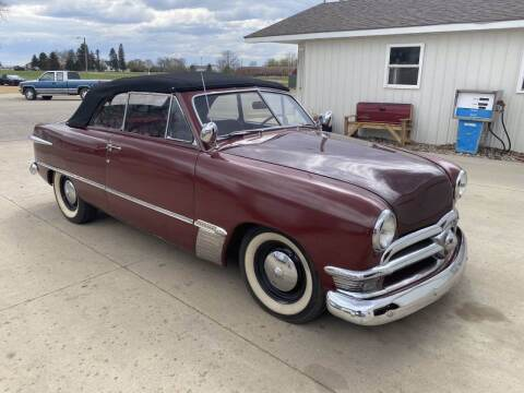 1950 Ford Custom Convertible for sale at B & B Auto Sales in Brookings SD