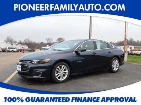 2016 Chevrolet Malibu for sale at Pioneer Family auto in Marietta OH