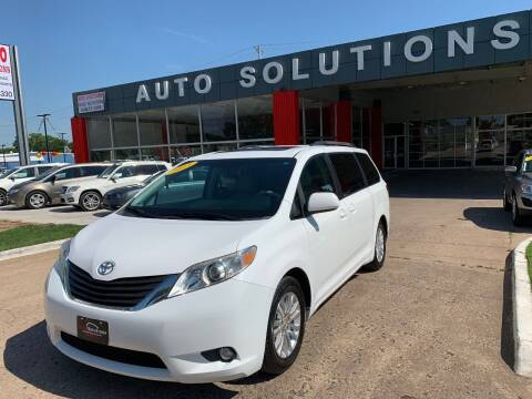 2011 Toyota Sienna for sale at Auto Solutions in Warr Acres OK