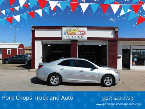 2015 Chevrolet Malibu for sale at Pork Chops Truck and Auto in Cheyenne WY