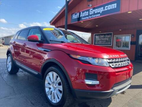 2015 Land Rover Range Rover Evoque for sale at HUFF AUTO GROUP in Jackson MI