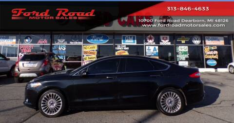 2015 Ford Fusion for sale at Ford Road Motor Sales in Dearborn MI