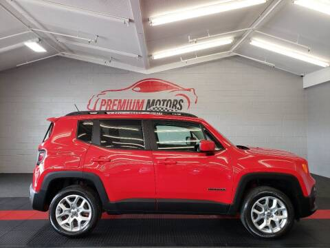 2017 Jeep Renegade for sale at Premium Motors in Villa Park IL