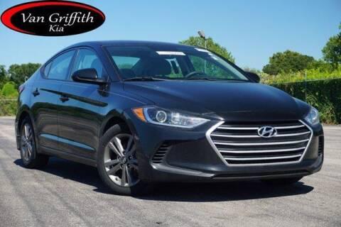 2018 Hyundai Elantra for sale at Van Griffith Kia Granbury in Granbury TX