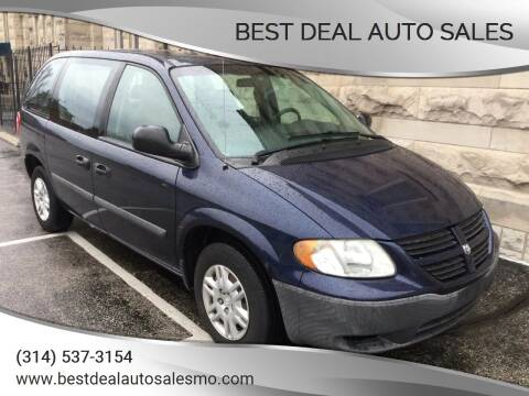2005 Dodge Caravan for sale at Best Deal Auto Sales in Saint Charles MO