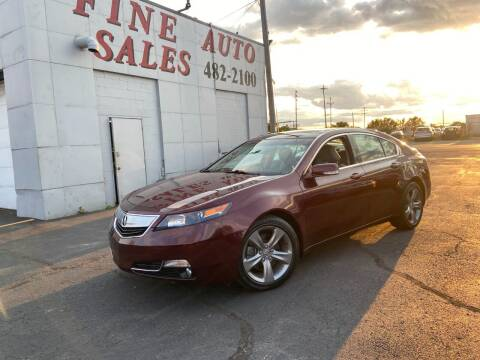 2014 Acura TL for sale at Fine Auto Sales in Cudahy WI