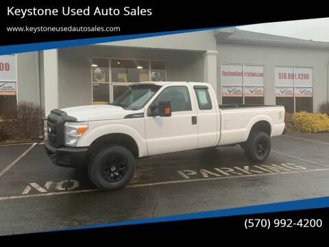 2014 Ford F-250 Super Duty for sale at Keystone Used Auto Sales in Brodheadsville PA