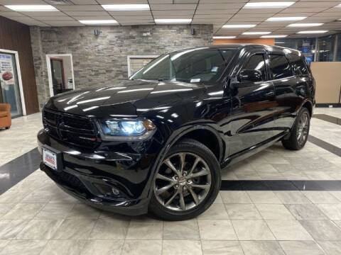 2017 Dodge Durango for sale at Sonias Auto Sales in Worcester MA