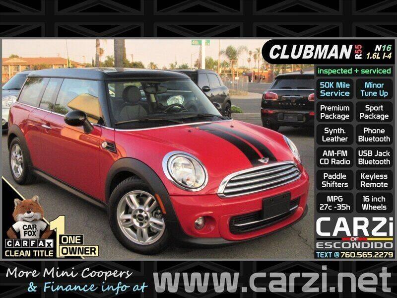2013 MINI Clubman for sale in Escondido, CA