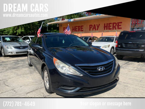 2011 Hyundai Sonata for sale at DREAM CARS in Stuart FL