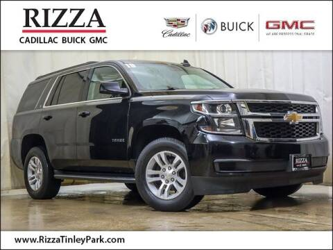 2019 Chevrolet Tahoe for sale at Rizza Buick GMC Cadillac in Tinley Park IL