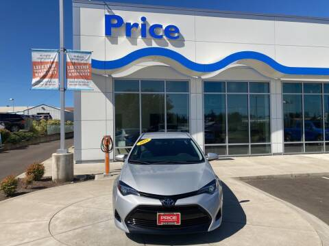 2019 Toyota Corolla for sale at Price Honda in McMinnville in Mcminnville OR