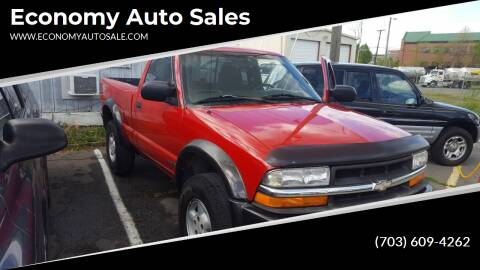 1999 Chevrolet S-10 for sale at Economy Auto Sales in Dumfries VA