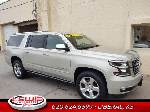 2017 Chevrolet Suburban for sale at Lewis Chevrolet Buick of Liberal in Liberal KS