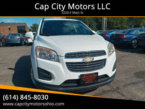 2015 Chevrolet Trax for sale at Cap City Motors LLC in Columbus OH