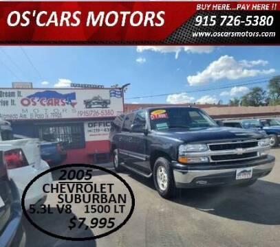 2005 Chevrolet Suburban for sale at Os'Cars Motors in El Paso TX